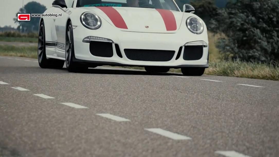 ポルシェ911R(Type991)Porsche 911 R review Autoblog_008
