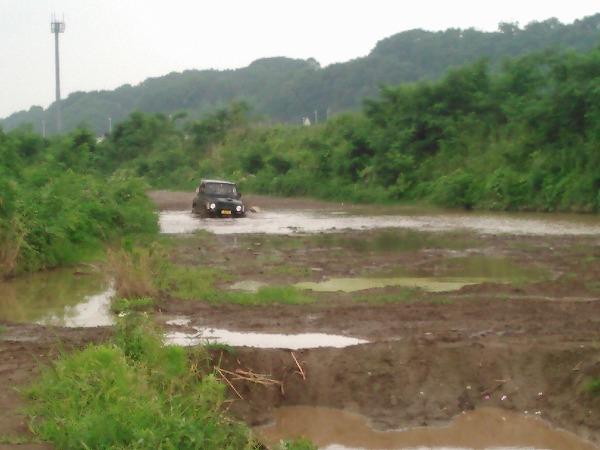 泥んこ猿ヶ島で練習_15