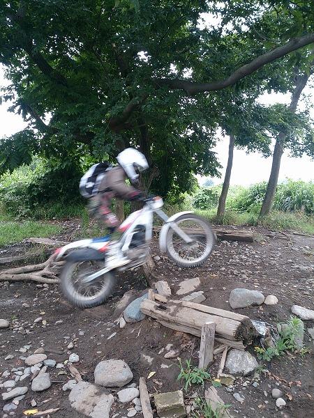 泥んこ猿ヶ島で練習_2