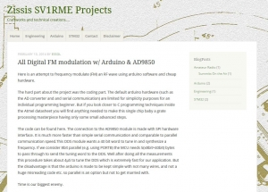 All Digital FM modulation with Arduino AD9850
