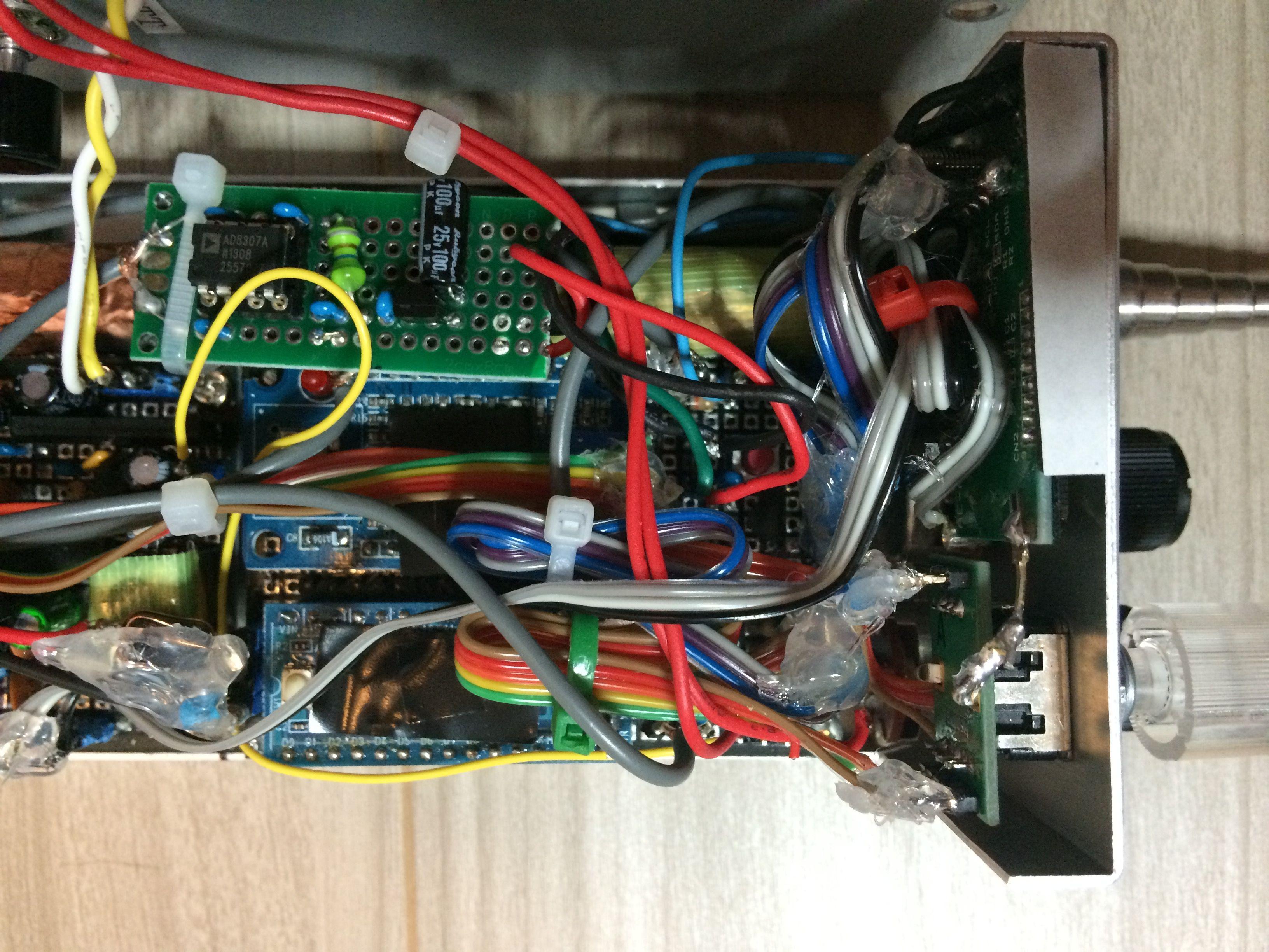inside main cpu log amp