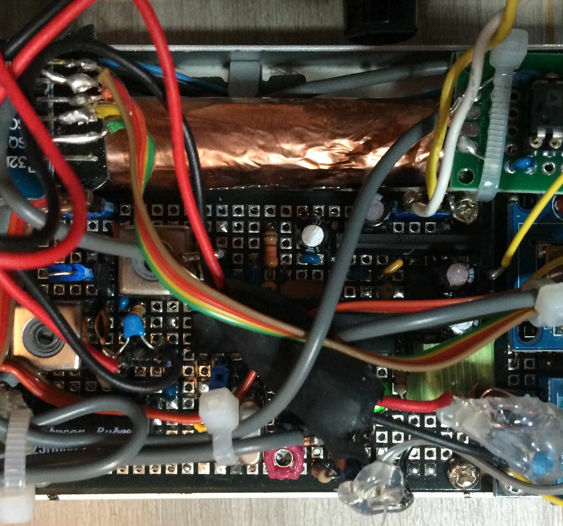 inside rx unit