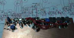 実験基板FM送信機