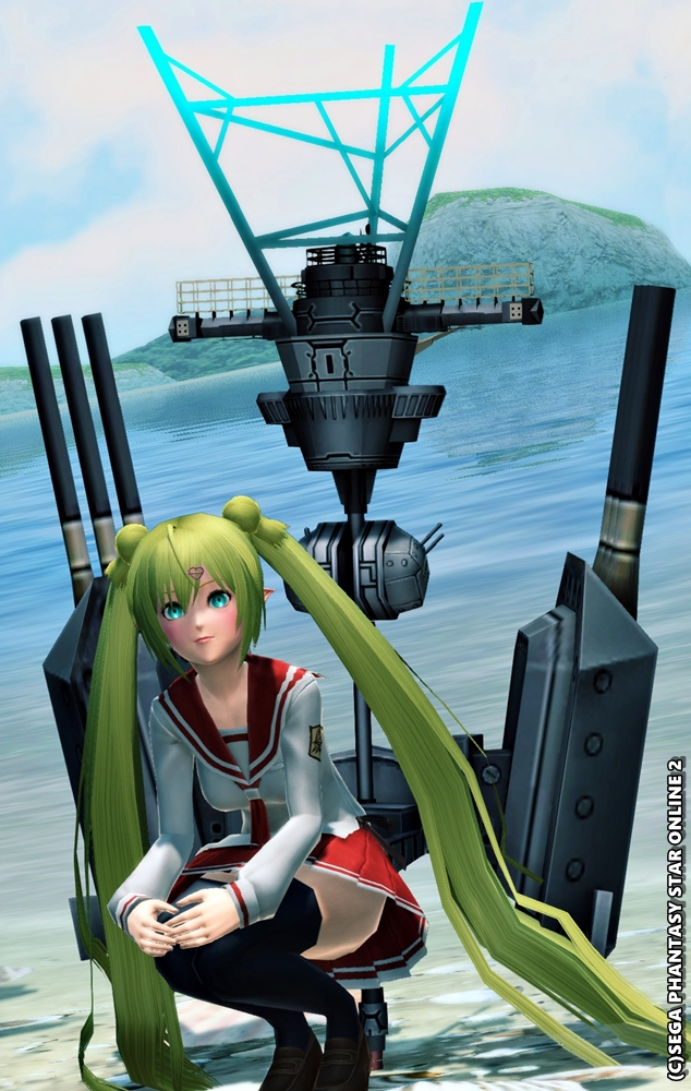 電探装備の駆逐艦娘