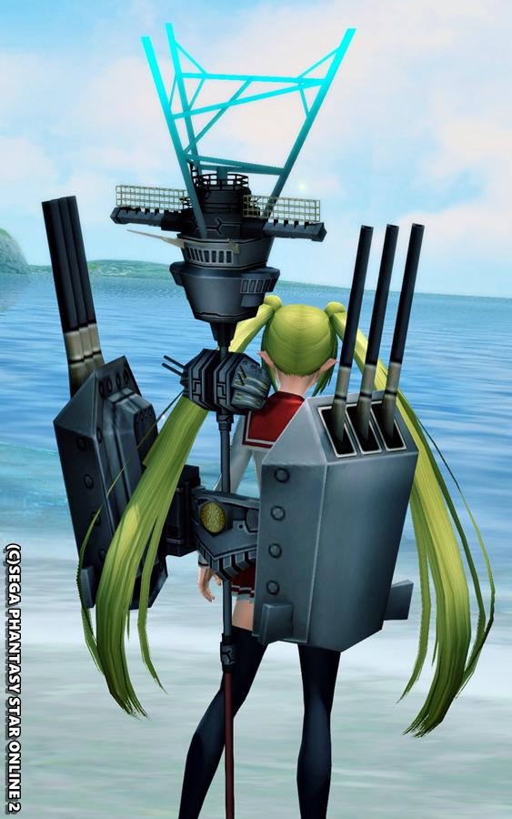 電探装備の駆逐艦娘2
