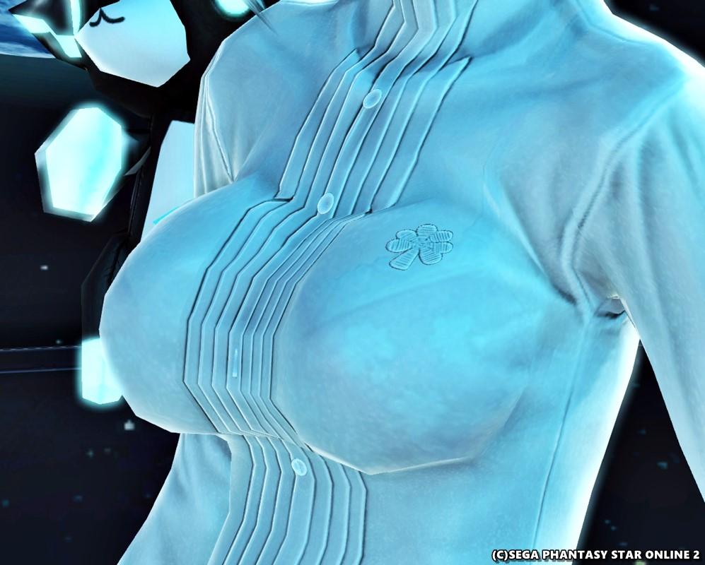 透け透けブラウス、ドレッシアオース雪[Ba]2