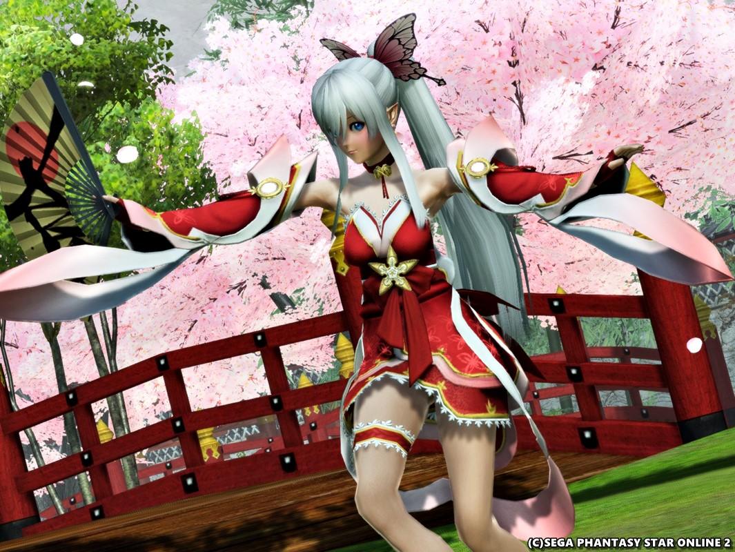 ヨシノテフラ茜ちゃんの桜の舞い