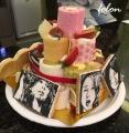 ケーキに飾られた♪02