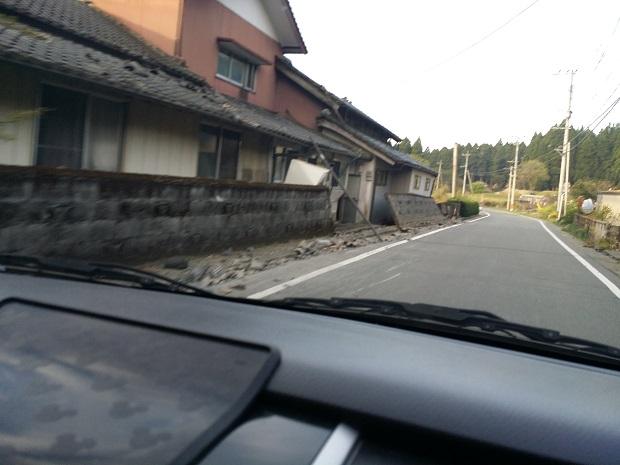 阿蘇の山から下りた村1