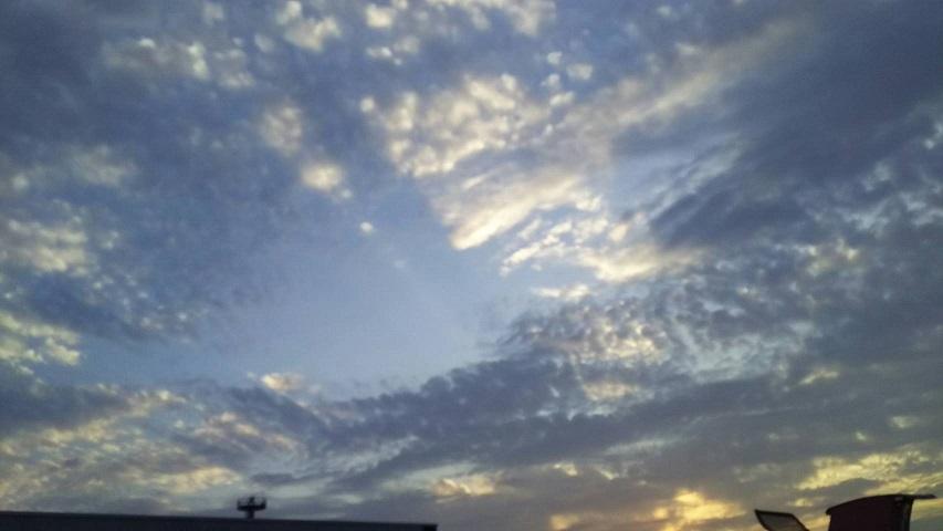 島根の夕暮れの空1