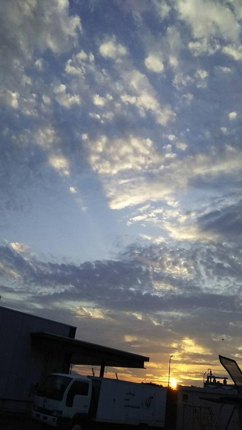 島根の夕暮れの空3