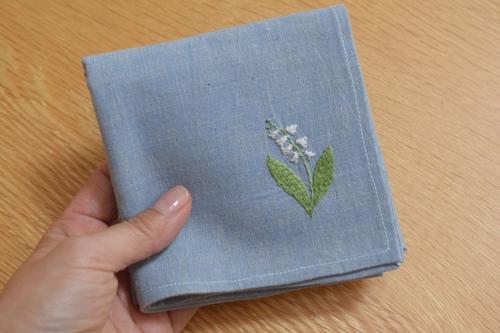 ハンカチ刺繍 (2)