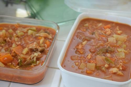 野菜スープ大量作成
