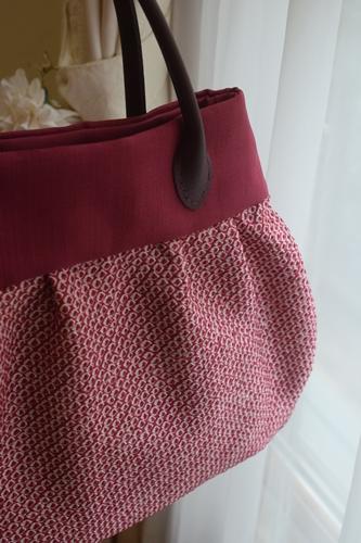 絞りの着物からバッグ2