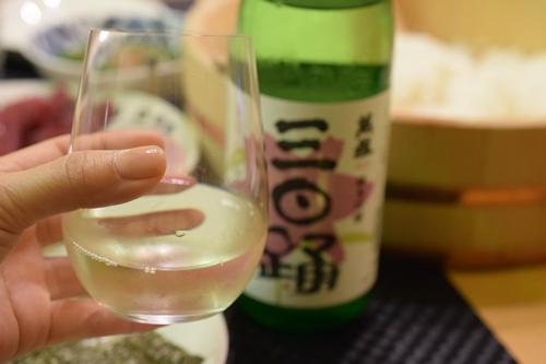 寿司には日本酒でしょ