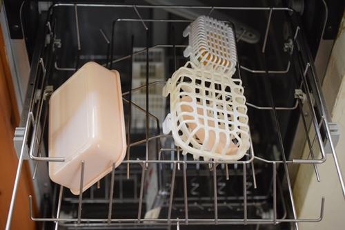 お弁当箱を食洗器に