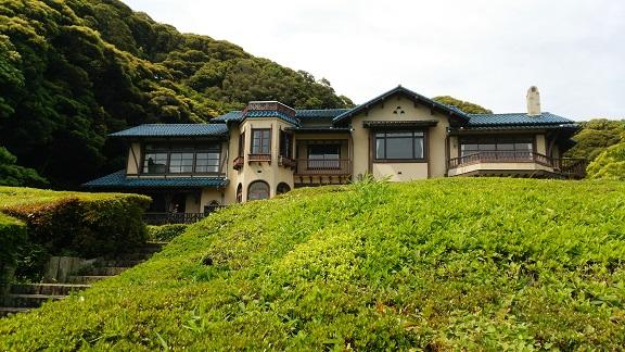 新緑の鎌倉文学館