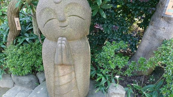 長谷寺のお地蔵さん