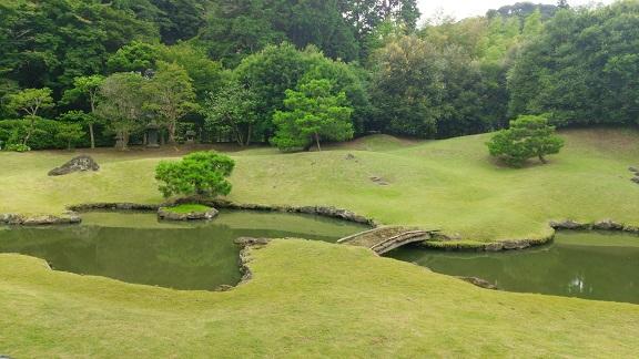建長寺のお庭