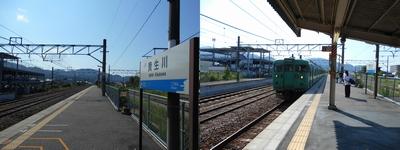 草津線_貴生川駅