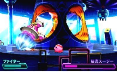 星のカービィ ロボボプラネット ボス攻略 エリア3『秘書スージー』