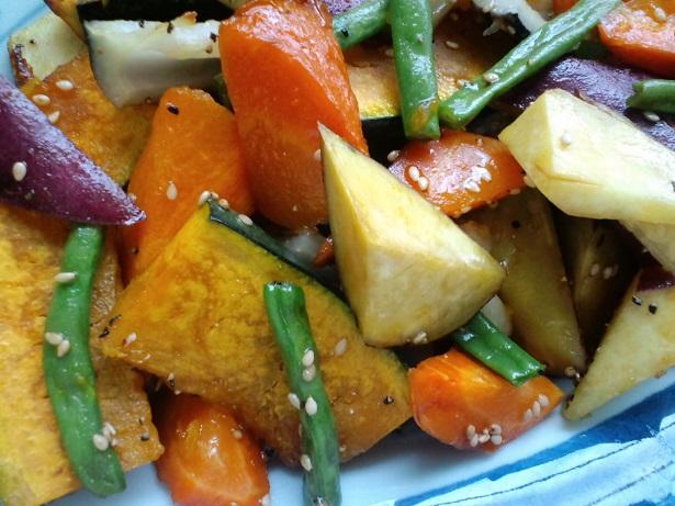 ロースト野菜のハニーソース2