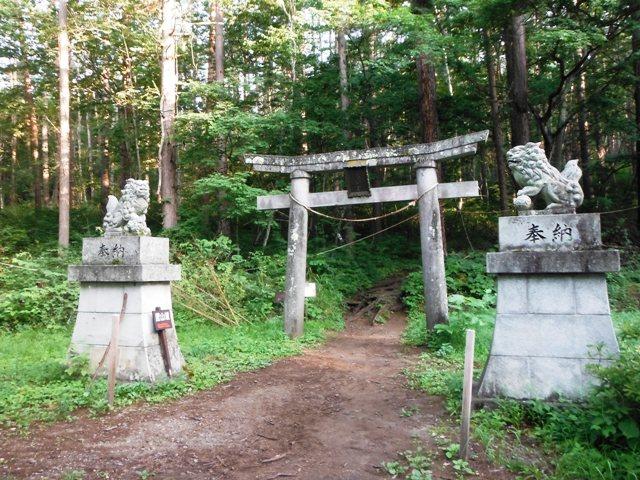 飯縄山奥社 (1)