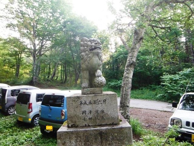 飯縄山奥社 (4)