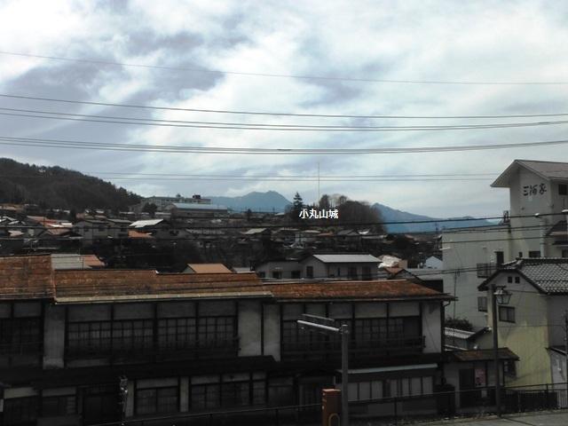 小丸山城遠景