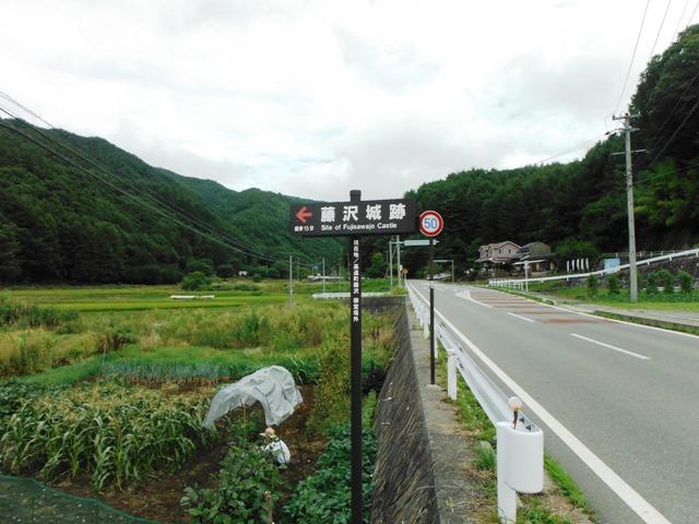 藤沢城(伊那市) (1)