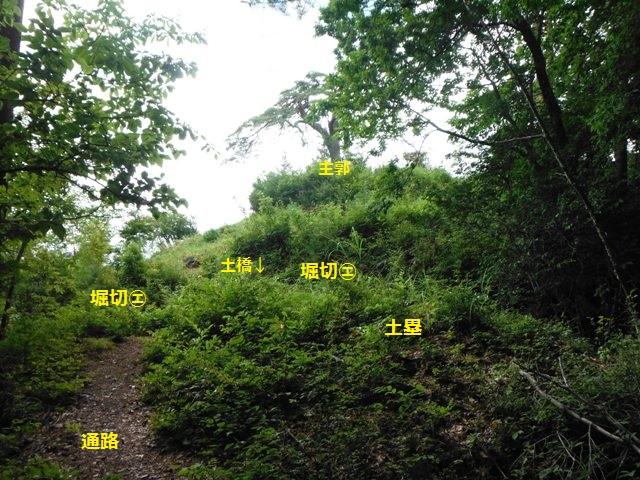 藤沢城(伊那市) (15)