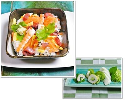 海鮮バラ寿司