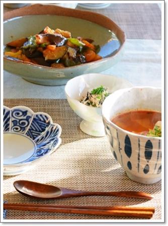 茄子の料理