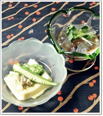 卵豆腐&心太
