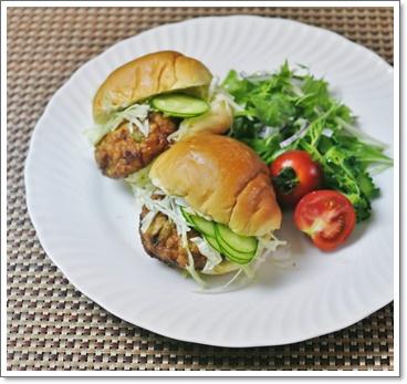 豆腐ハンバーガー