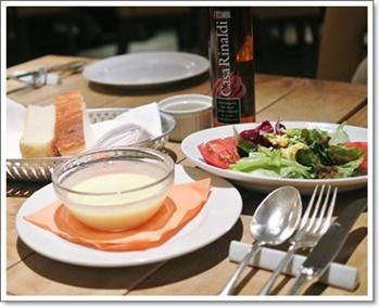 イタリアンサラダ&スープ