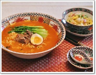 担々麺+チャーハン