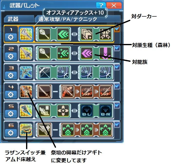 H28 10-11 TeBr武器パレ