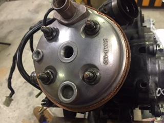 パッジョグ水冷ヘッド修理⑨