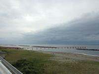 瀬波温泉の海岸