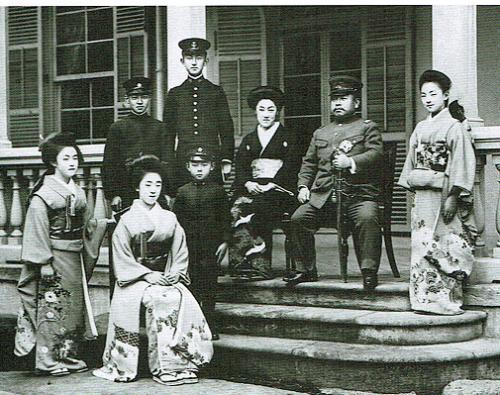 久邇宮家集合写真