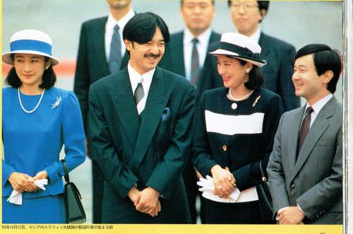 1993年10月12日 エリツィン大統領歓迎行事が始まる前