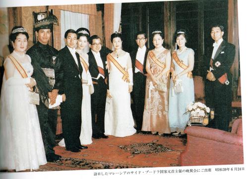 マレーシア国家元首主催の晩さん会