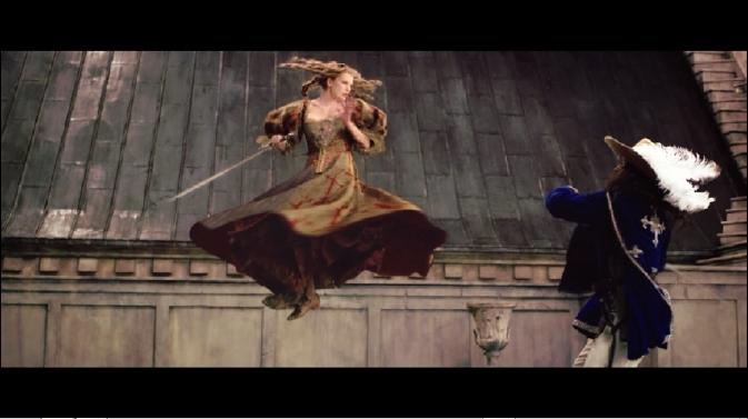 ttm-Milla Jovovich fight