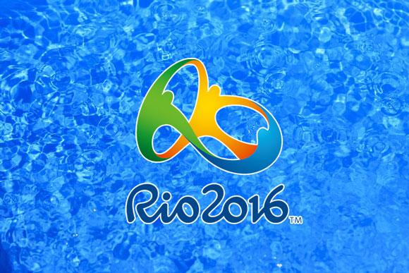 リオ五輪プールの水面