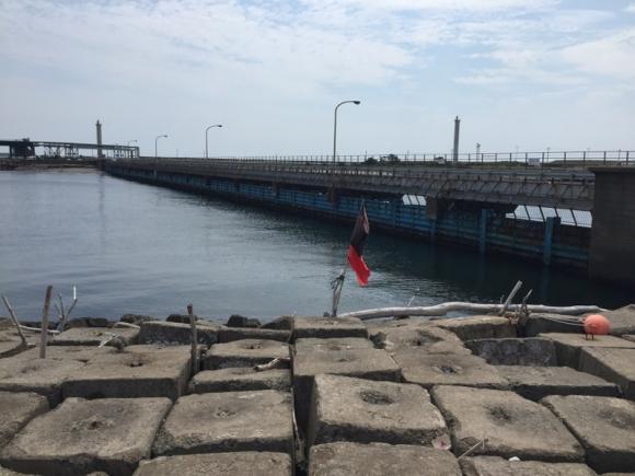 鹿島港 東電取水口 根魚