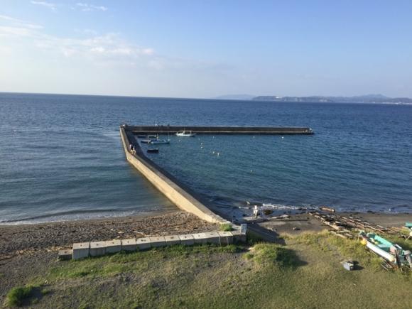 館山の海辺の景色