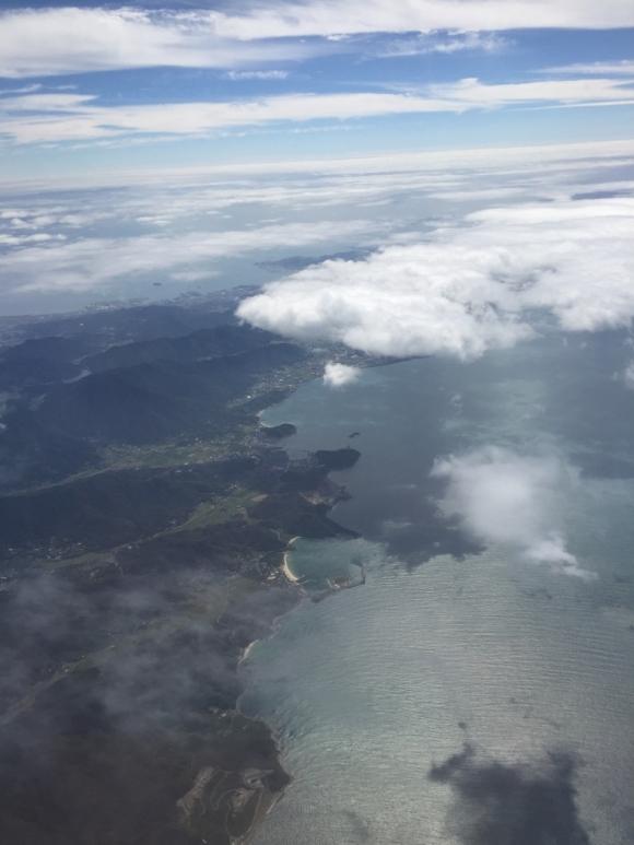 空撮 日本の海辺