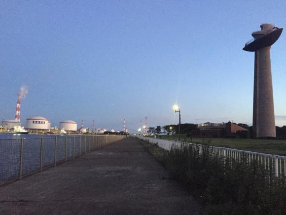 鹿島港 港公園 景色 海