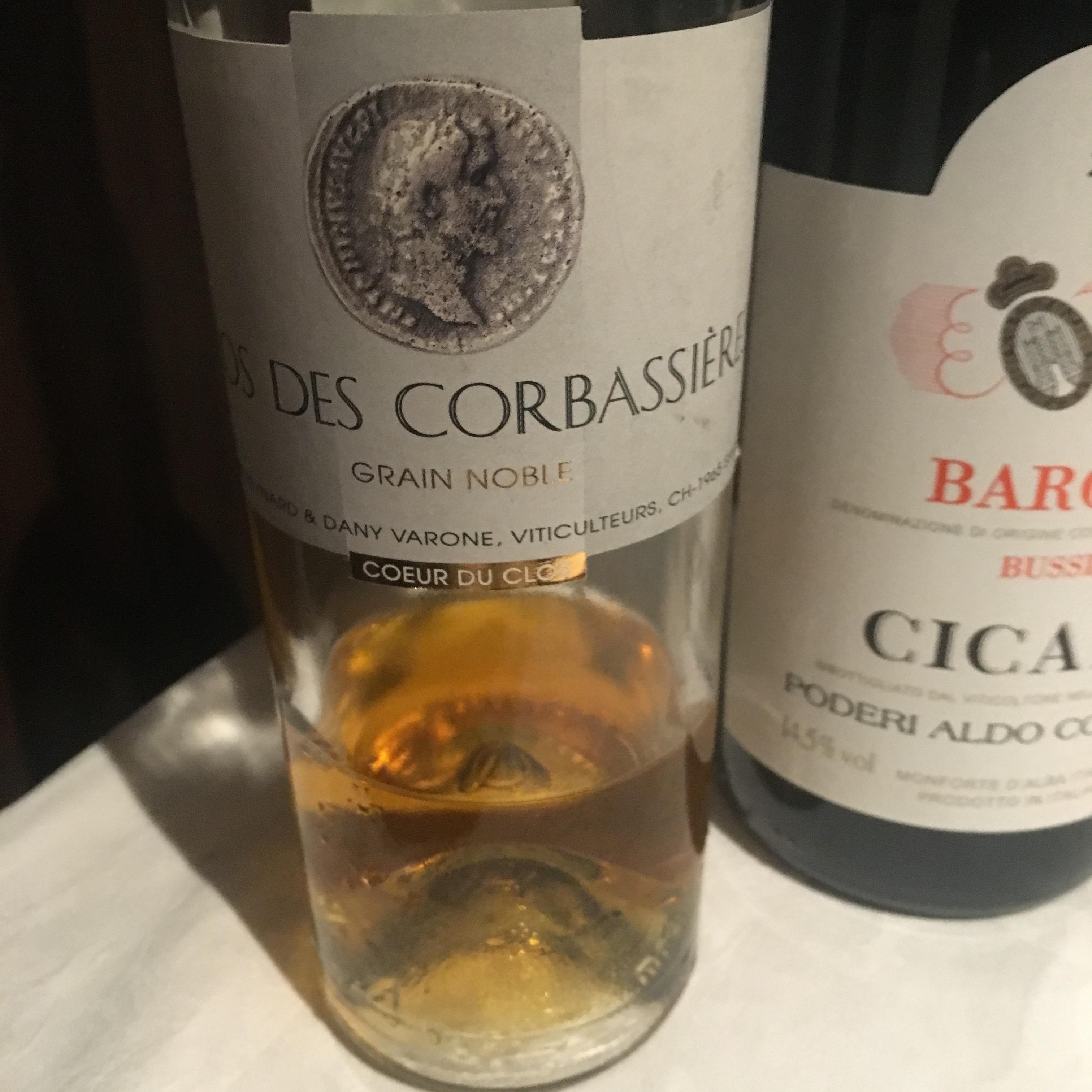 CLOS DES CORBASSIERE Grain Noble Cœur du Clos